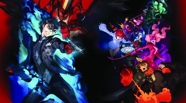 Persona 5 Strikers Wallpaper