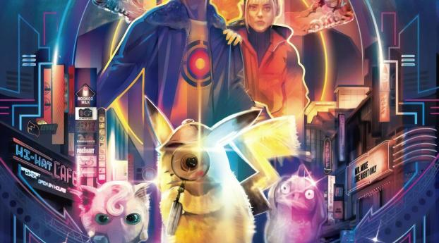 Pokemon Detective Pikachu Movie Wallpaper 1680x1050 Resolution