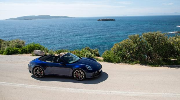 HD Wallpaper | Background Image Porsche 911 Cabriolet