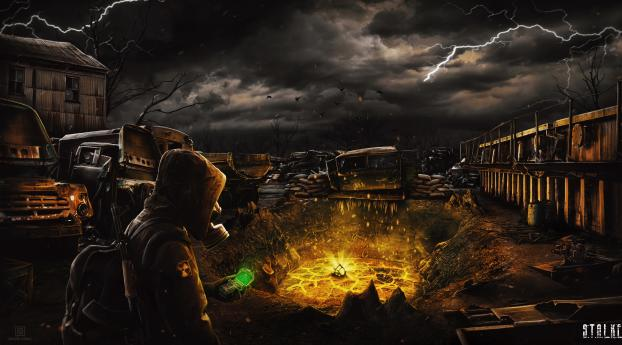 HD Wallpaper | Background Image Post Apocalyptic In STALKER 2