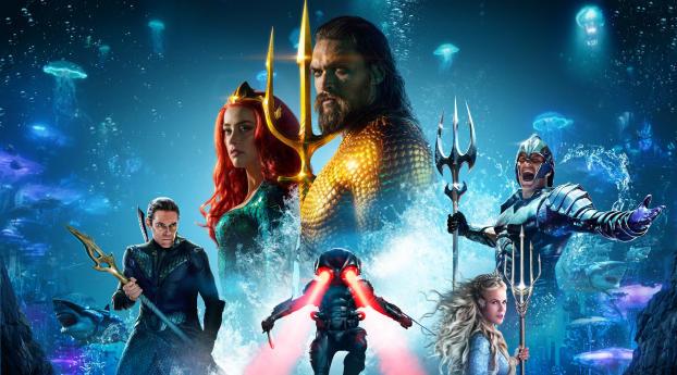 Poster of Aquaman Wallpaper