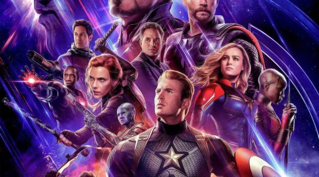 Poster Of Avengers Endgame Movie Wallpaper