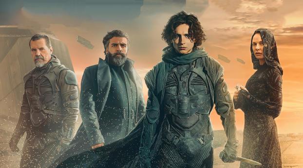 Poster of Dune 2020 Wallpaper