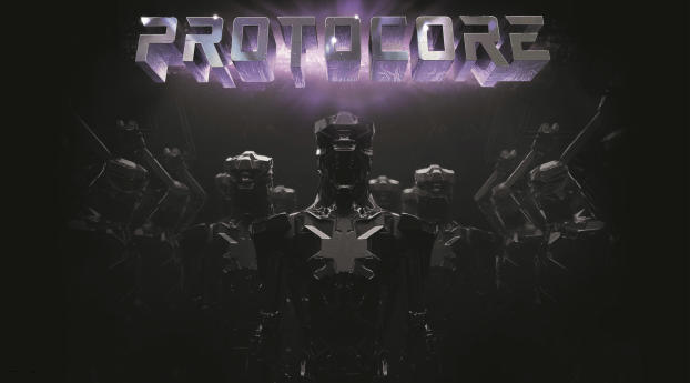 HD Wallpaper | Background Image Protocore Game Poster 4k