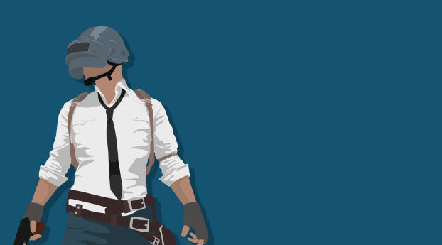 Download Pubg Minimalist Pophead 7680x4320 Resolution: Pubg Minimal Art, Full HD Wallpaper