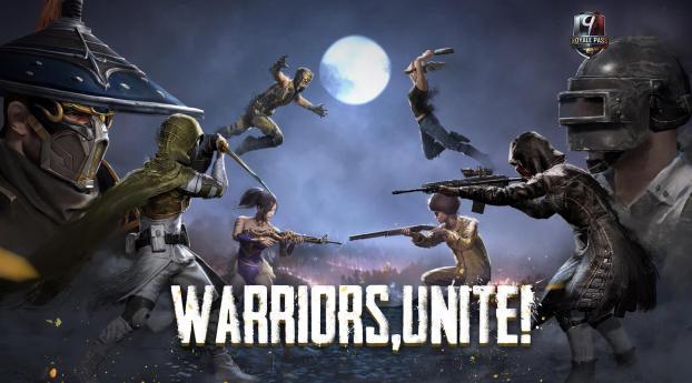 HD Wallpaper | Background Image PUBG Season 9  Warrior Units