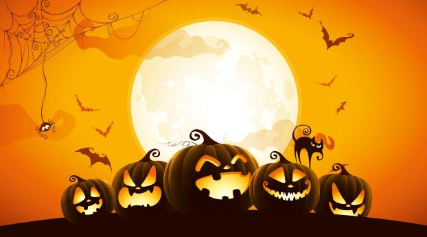 HD Wallpaper | Background Image Pumpkins
