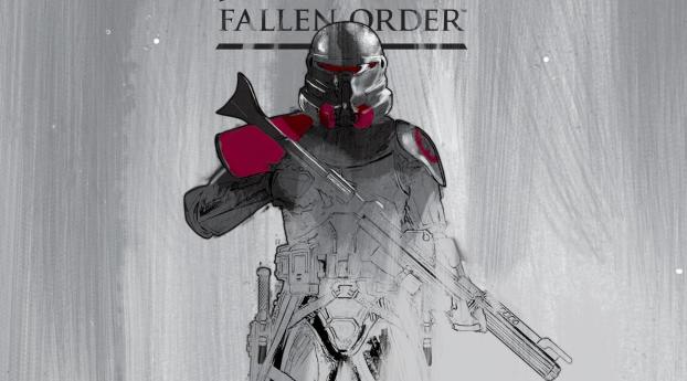 HD Wallpaper | Background Image Purge Trooper Star Wars Jedi Fallen Order Art