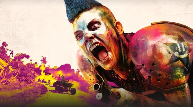 Rage 2 Game Poster Wallpaper