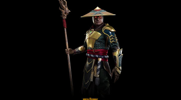 Raiden Mortal Kombat 11 4K Wallpaper