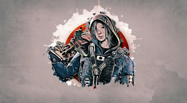 Rainbow Six Siege Wallpaper Download Free Beautiful: Download Rainbow Six Siege Hibana 1440x2560 Resolution