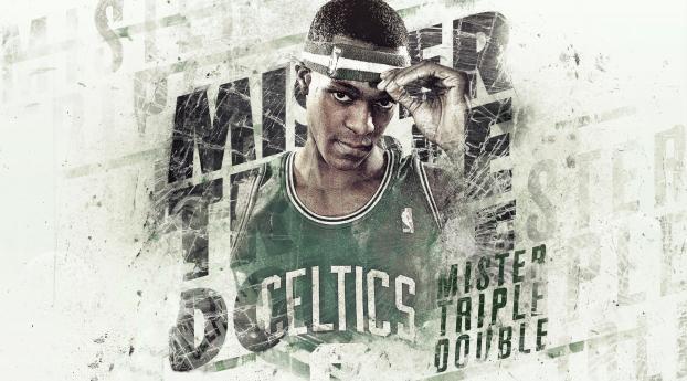 1242x2688 Rajon Rondo Basketball Boston Celtics Iphone Xs