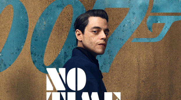 HD Wallpaper | Background Image Rami Malek No Time to Die Movie Poster