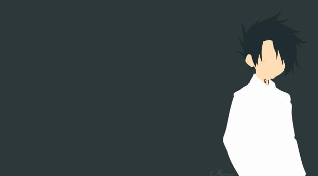 HD Wallpaper | Background Image Ray The Promised Neverland Minimal