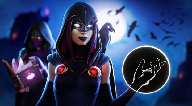 Rebirth Raven 4K Fortnite Wallpaper