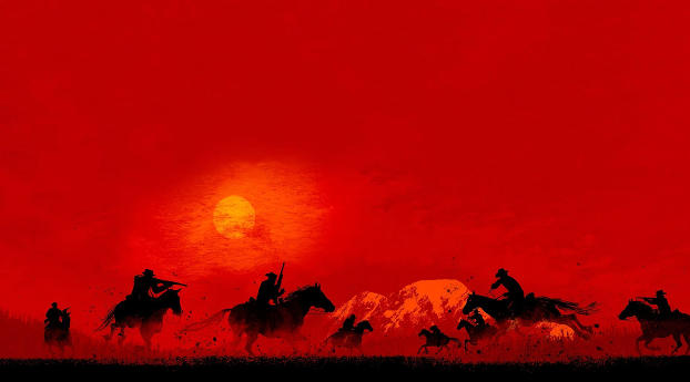 HD Wallpaper | Background Image Red Dead Redemption 2 Game 2019