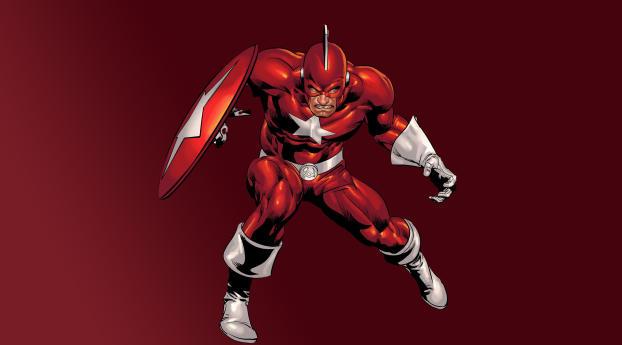 HD Wallpaper | Background Image Red Guardian Marvel Comic Art