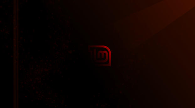Red Linux Mint Wallpaper