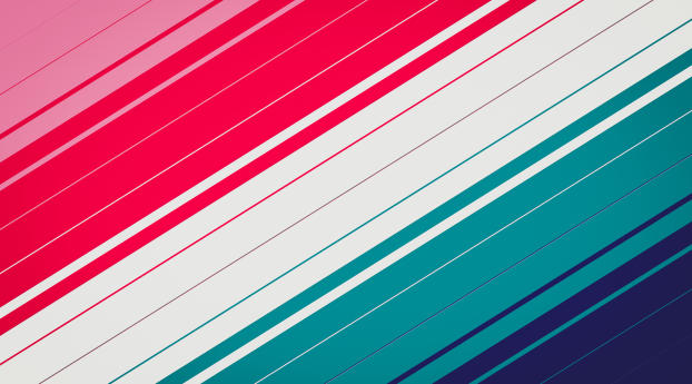 Red White Teal Stripes Wallpaper 720x1280 Resolution