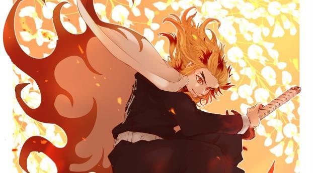 Rengoku Kyoujurou Anime Wallpaper Hd Anime 4k Wallpapers