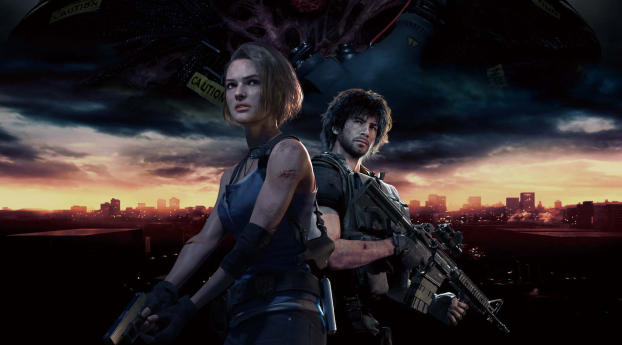 Resident Evil 3 Remake 2019 Wallpaper