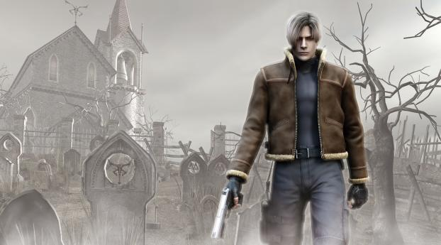 Resident Evil 4 Leon S. Kennedy Wallpaper in 320x568 Resolution