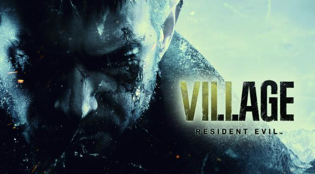 HD Wallpaper | Background Image Resident Evil Village Key Art