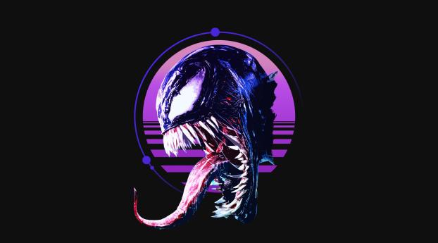 HD Wallpaper | Background Image Retro Venom Art