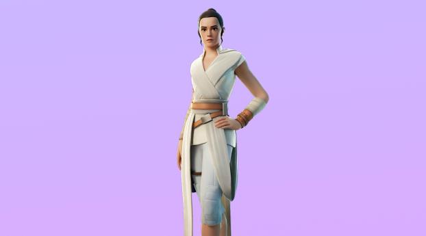 Rey Fortnite 4K Skin Wallpaper
