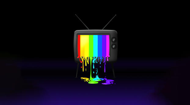 RGB Tv Colorful Wallpaper in 3840x2400 Resolution
