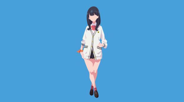 HD Wallpaper | Background Image Rikka Takarada Anime