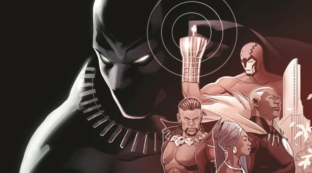 rise of the black panther marvel comics