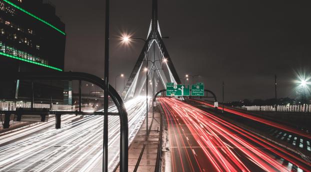 HD Wallpaper | Background Image road, route, bridge