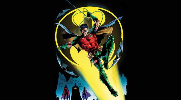 HD Wallpaper | Background Image Robin DC Comics