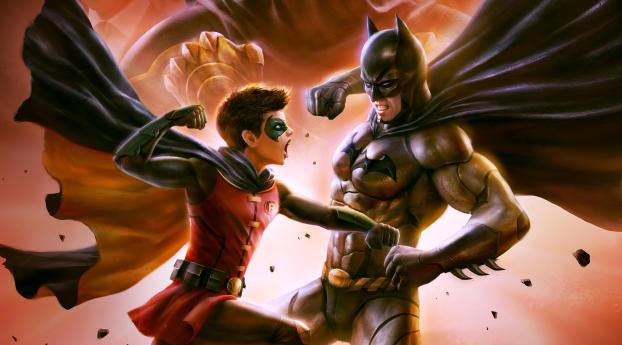 HD Wallpaper | Background Image Robin vs Batman