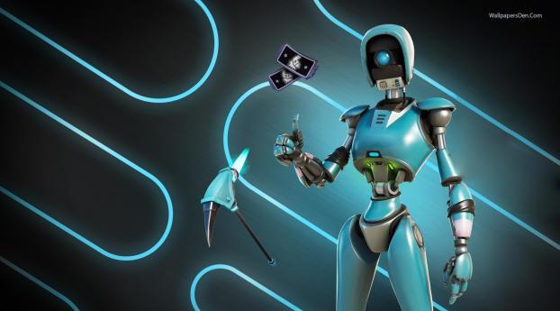 Robo-Ray Fortnite Save The World Wallpaper