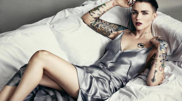 HD Wallpaper   Background Image Ruby Rose Australian Model Actress 2017