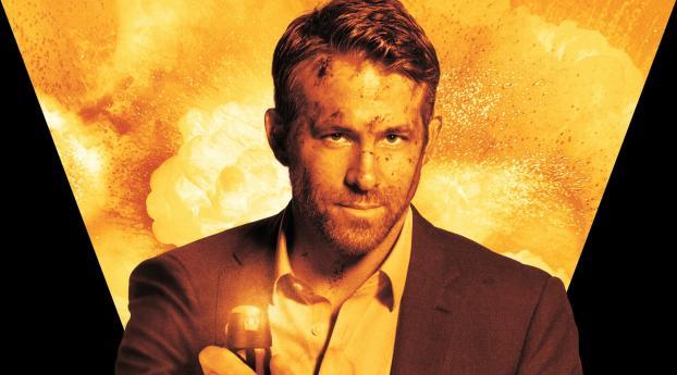 Ryan Reynolds The Hitman's Wife's Bodyguard Wallpaper 1280x720 Resolution