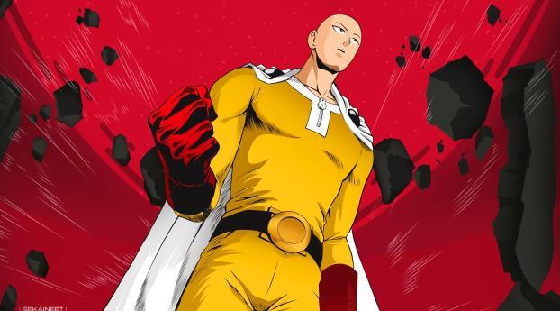HD Wallpaper | Background Image Saitama In One Punch Man