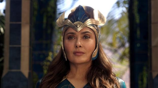 Salma Hayek as Ajak Eternals Movie Wallpaper