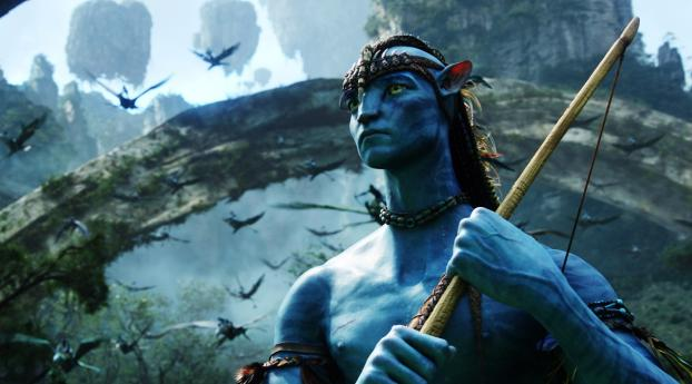 HD Wallpaper | Background Image Sam Worthington as Jake Sully Avatar