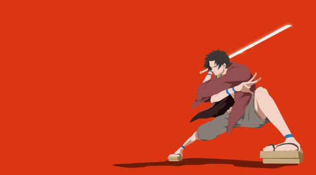 HD Wallpaper | Background Image Samurai Champloo Minimalist