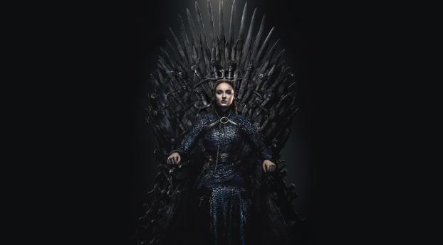 HD Wallpaper | Background Image Sansa Stark Queen Of Winterfell