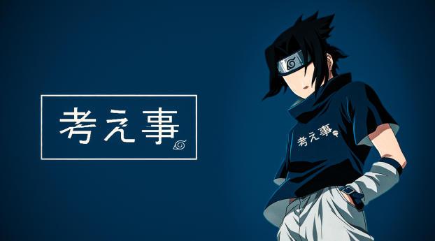 Sasuke Uchiha Digital Art Wallpaper 1080x2400 Resolution