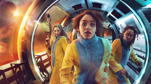 Savannah Steyn Intergalactic Netflix Wallpaper
