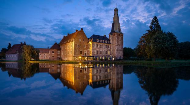 Schloss Raesfeld Germany Wallpaper