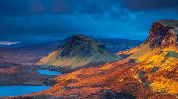 Scotland Beautiful Mountains Lake Wallpaper