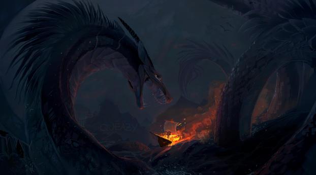 HD Wallpaper | Background Image Sea Monster Deviantart