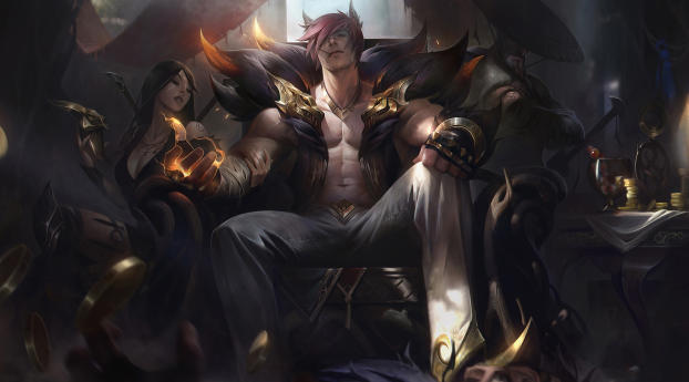 Sett League Of Legends Wallpaper Hd Games 4k Wallpapers Images Photos And Background