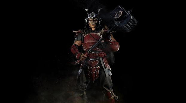 Shao Kahn in Mortal Kombat 11 Wallpaper 2880x1800 Resolution